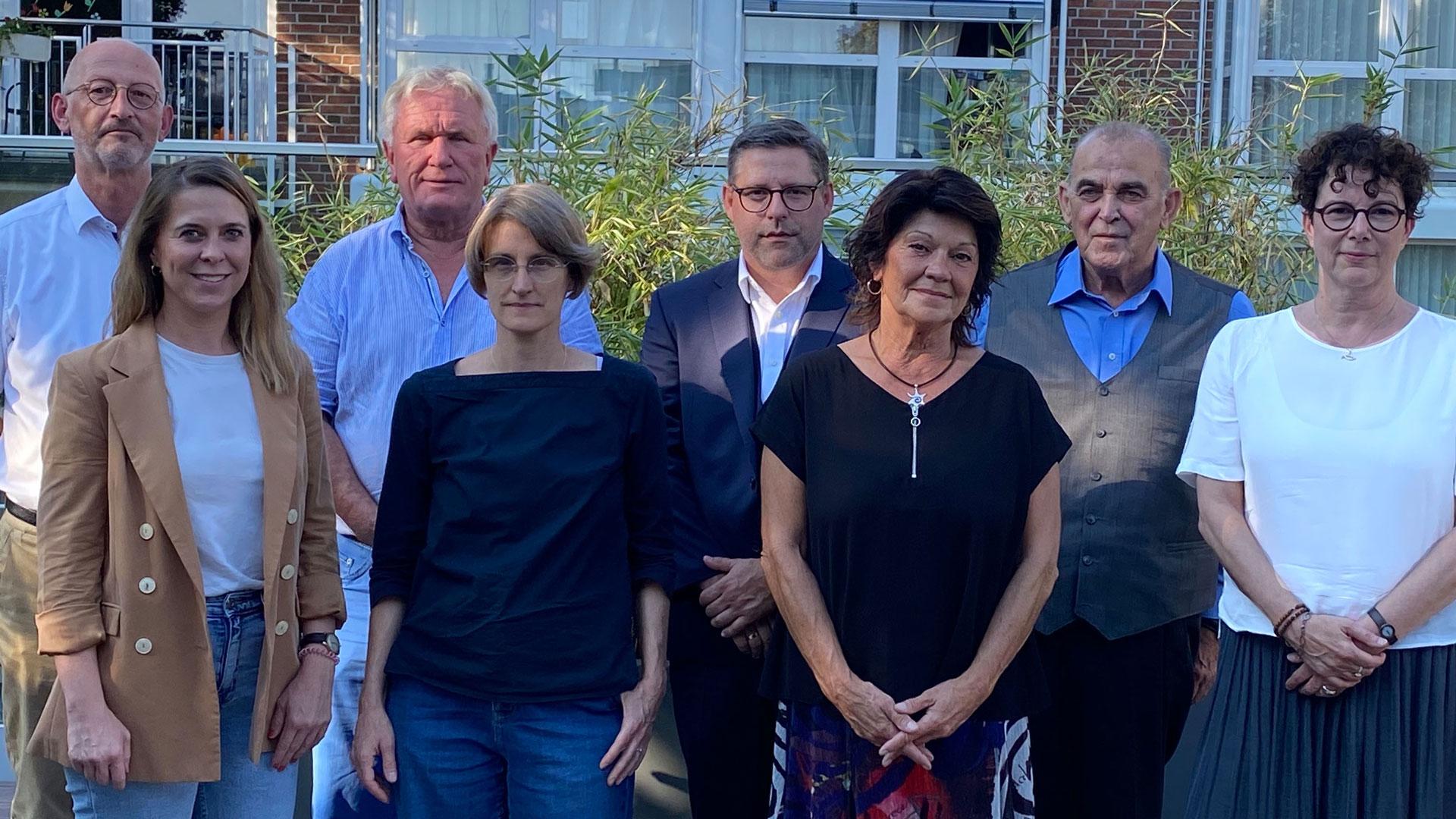 Der Vorstand des Fördervereins